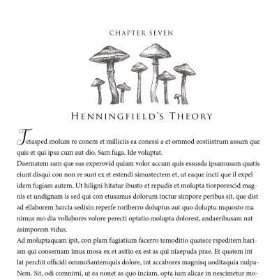 Chapter Heading Spot Illustration