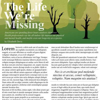 Print Mag Article Illustration