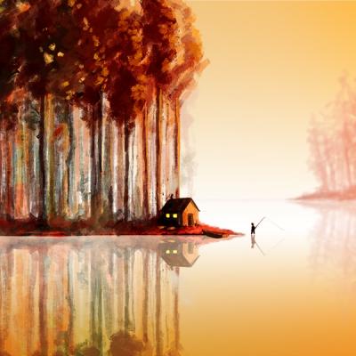 Angler Reflection